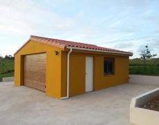 Proyecto edificación auxiliar «uso garaje»