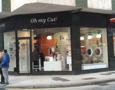 Proyecto de Adecuación de local Peluquería. Franquicia «Oh my cut», Gijón.