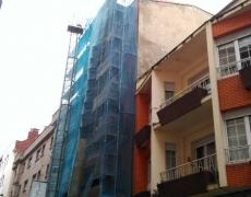 """Rehabilitación de edificio """"Bloque de Viviendas"""" en Gijón."""
