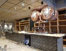 Adecuación de local para Café-Bar Continental. Lugones.